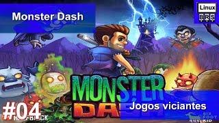 Jogos Viciantes #04 -Monster Dash - Gameplay - Português