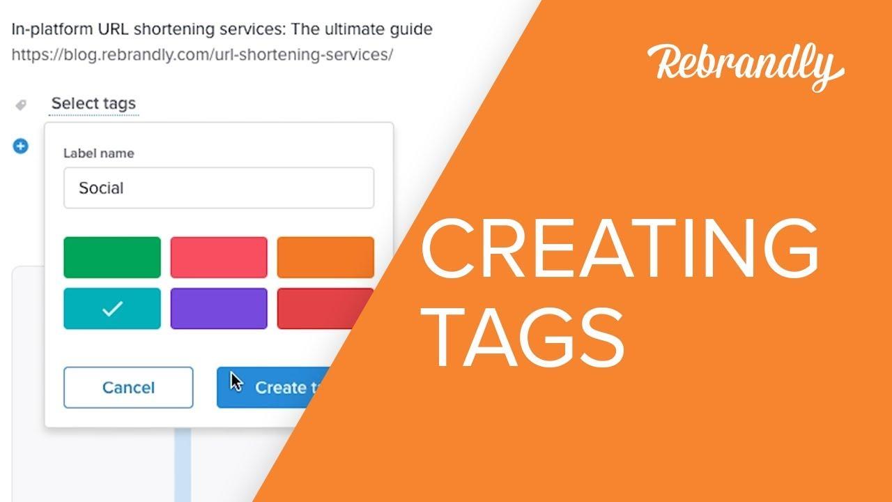 How To Tag Custom Short Links - YouTube