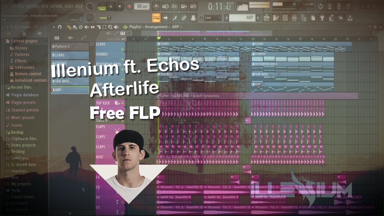 Illenium ft. Echos - Afterlife (Free FLP)