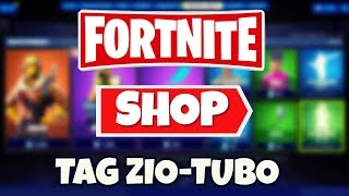 FORTNITE SHOP today August 14th RAPACE skin, VELOCITY, back ARTIGLIERE and SLURP coverage!