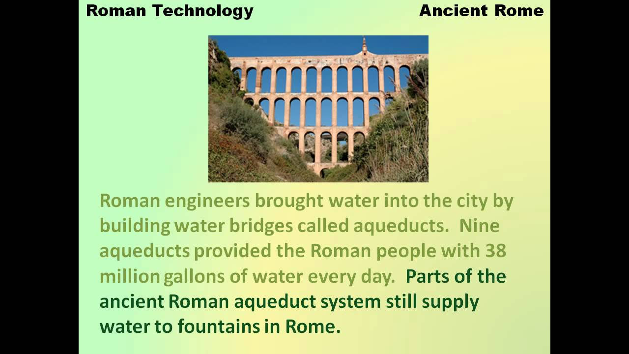 technology: ancient rome and roman military engineering essay Im writing an essay on engineering/infrastructure + military achievements in ancient rome can anyone help me think of a catch phrase/ attention grabber.