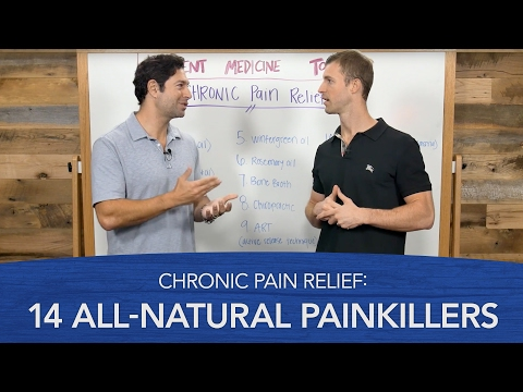 Chronic Pain Relief: 14 All-Natural Painkillers