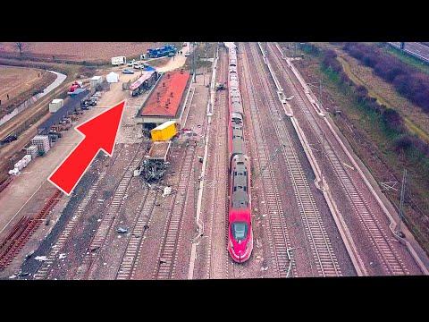 Deragliamento Frecciarossa ( Lodi ) Un disastro a 300 km/h