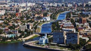 Астрахань: Прогулка по набережной