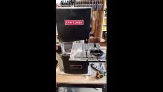 Craftsman 9inch Bench Top Bandsaw Review
