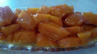 Запеченная тыква Рецепт тыквы с мёдом и апельсином Вкусный рецепт