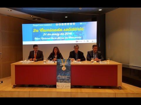 La Diputació de Barcelona i Càritas sumen solidaritat a la Caminada de Collserola
