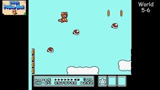 Super Mario Bros. 3 [NES] Playthrough #05, World 5: Sky Land