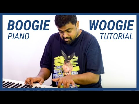 Boogie Woogie - Piano Tutorial - Nathaniel School of Music