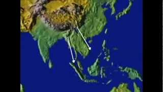 Philippine Islands during Continental Drift (Pangaea) Event