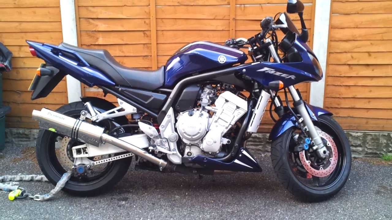 yamaha fzs 1000 fazer beowulf exhaust review youtube. Black Bedroom Furniture Sets. Home Design Ideas