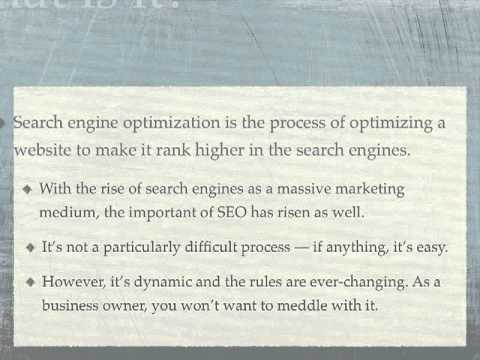 Choosing The Right Search Engine Optimization Firm
