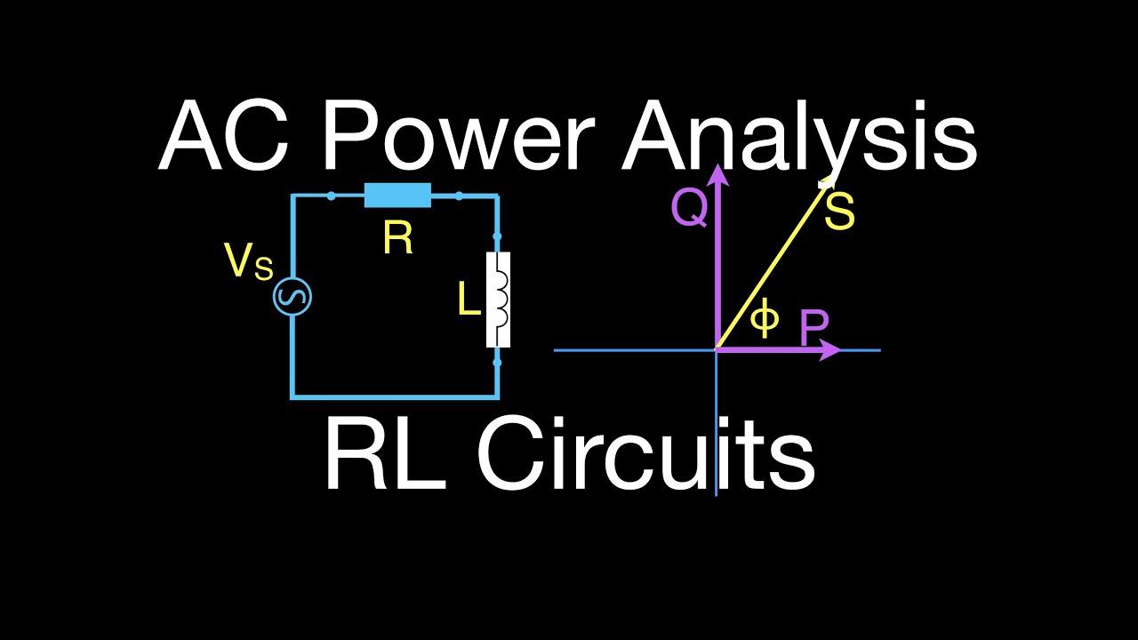 rlc circuits 5 of 6 ac power for an rl circuit [ 1280 x 720 Pixel ]