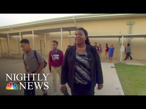 Meet The Inspiring Woman Who Went From Being A Janitor To An Assistant Principal | NBC Nightly News