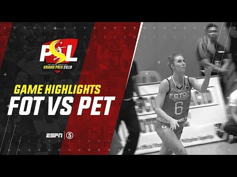 Highlights: Foton vs. Petron | PSL Grand Prix 2019