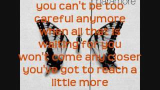 Paramore - Careful [instrumental/karaoke]