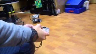 樂高EV3機器人 藍牙遙控 雙觸碰感測器 / Lego EV3 robot Bluetooth control - Dual Touch Sensors