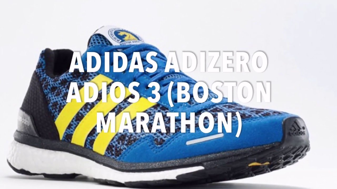 ... 2017 Boston Marathon 14 ADIDAS ADIZERO ADIOS 3 (BOSTON MARATHON)  SNEAKERS NEWS ... 3617c7145