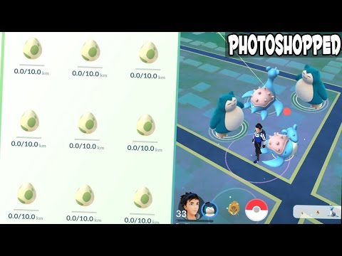 Pokemon GO ULTIMATE VIDEO! Double Lapras & Snorlax + Crazy All 9 10km Egg Hatching in Pokemon GO!!