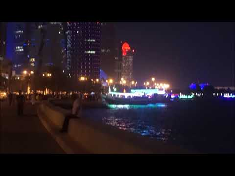 Amazing Doha Buildings and Landscapes as Seen at Night   Best of World Travel and Adventure