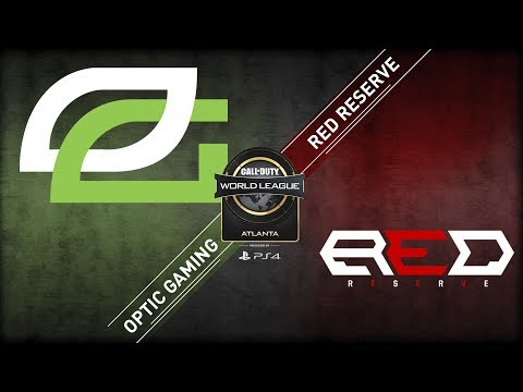 Red Reserve Vs OpTic Gaming | CWL Atlanta Open 2018 | Alpha Stream | Day 3