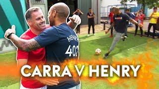 Video Henry v Carragher | 10 Ball Crossbar Challenge! download MP3, 3GP, MP4, WEBM, AVI, FLV Januari 2018