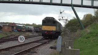 D7629 at the Great Central Railway Nottingham