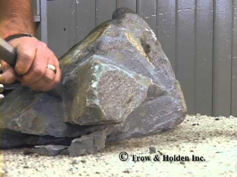 Trow and Holden Carbide Hand Chisel