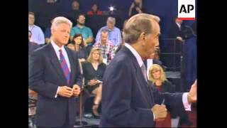 USA: BOB DOLE ACCUSES BILL CLINTON OF SCANDALS ALMOST ON A DAILY BASIS