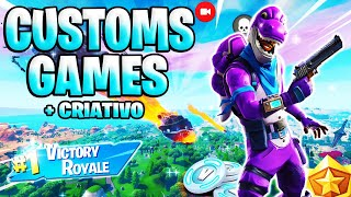🛑 FORTNITE PS4 LIVE | CUSTOMS GAMES WITH SUBSCRIPTS AND CREATIVE (GIVEAWAY) | #211 #FORTNITE #5K