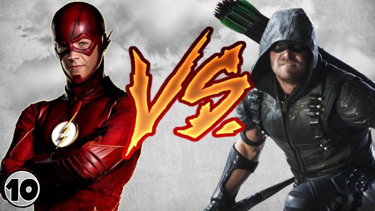 Download Flash vs Green Arrow