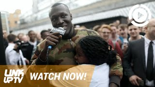 Stormzy Takes His Supporters To Nandos & Performs At Noisey HQ | Link Up TV