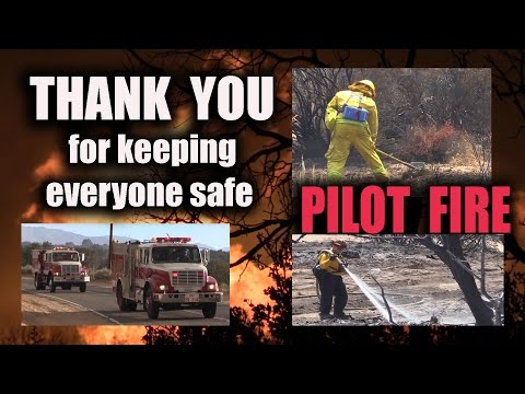 THANK YOU for keeping Pilot Fire away