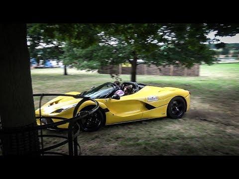 £5 million LaFerrari Aperta crazy donuts and stunt driving!!