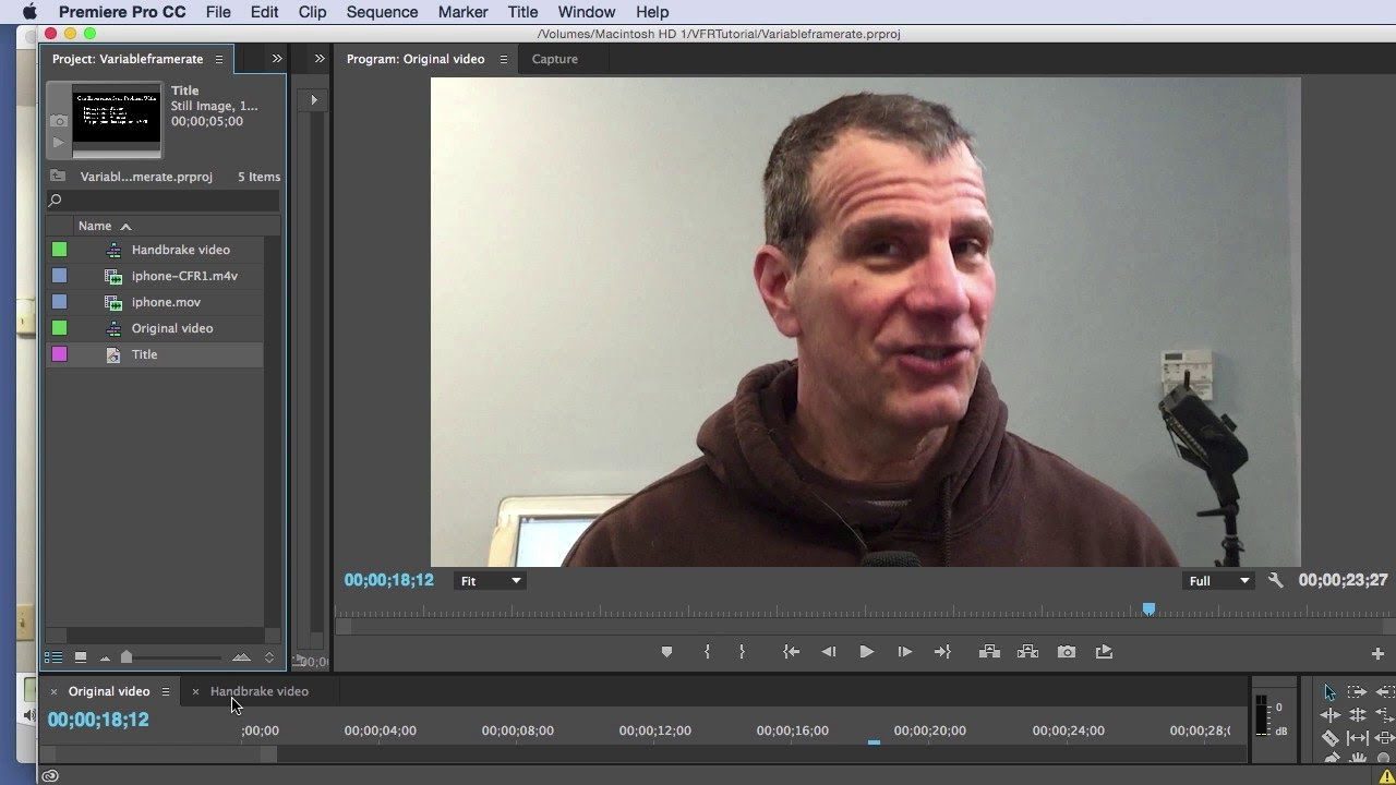 How to Restore A/V Sync to Variable Frame Rate Video for Editing in ...
