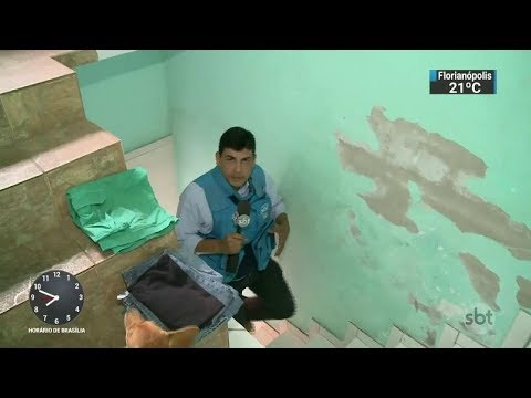 SBT tem acesso à casa onde Rogério 157 se escondeu da polícia | SBT Brasil (07/12/17)