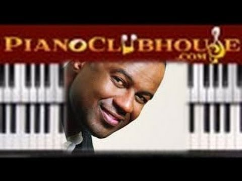 🎹 SHOULDA, WOULDA, COULDA - Brian McKnight (easy piano tutorial ...