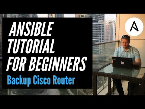 Ansible Network Automation Example | Backup Cisco Router Playbook