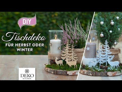 DIY: süße Tischdeko für Herbst oder Winter [How to] Deko Kitchen (P)