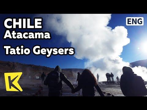 【K】Chile Travel-Atacama[칠레 여행-아타카마]타티오 간헐천/Tatio Geysers/Vapor/Spa