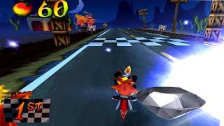 Crash Bandicoot 3 - Road Crash [ 100% ]