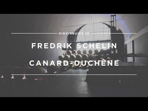 Champagne Canard-Duchêne med FREDRIK SCHELIN