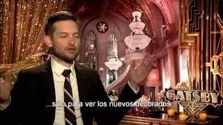 EL GRAN GATSBY - Entrevista Tobey Maguire Actor - Oficial de Warner Bros. Pictures