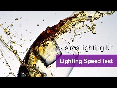 Lighting Speed Test - Broncolor Siros Lighting Kit Review.