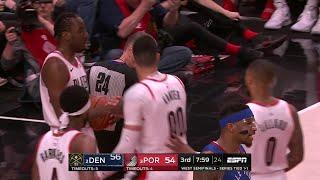3rd Quarter, One Box Video: Portland Trail Blazers vs. Denver Nuggets