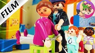 A Playmobil Story   TAKING OF HOSTAGES AT KINDERGARTEN - Criminal capture Kindergarten teacher