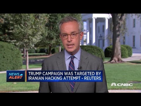 Reuters: Trump Campaign Targeted By Iranian Hackers
