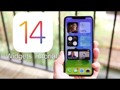How to use Widgets on iOS 14?