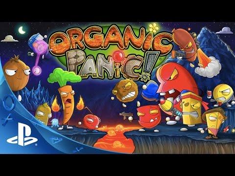 Organic Panic - Launch Trailer - PS4