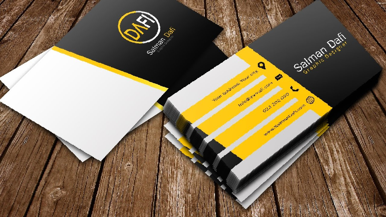 Business card dual colour photoshop tutorials youtube business card dual colour photoshop tutorials reheart Choice Image